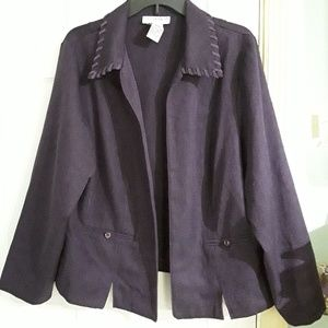 Purple sag harbor suit jacket